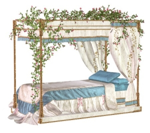 Sleeping Beauty bed